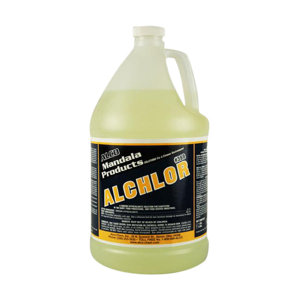 Alco 380-1 Alchlor High Quality Sanitizer 4/Case