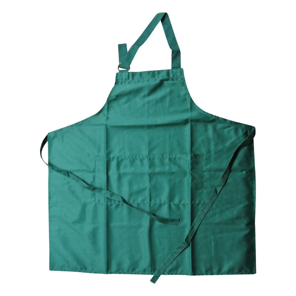Bib Apron D-Ring Poly/Cotton Forest Green