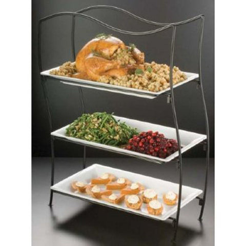 buffet stands risers food displays catering stands shopatdean rh shopatdean com Banquet Buffet Risers Candy Buffet Risers