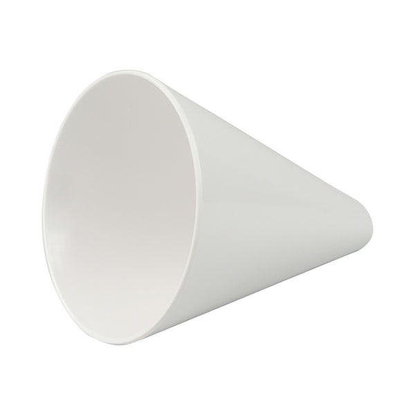 American Metalcraft MELFCW535 10 Oz Melamine Fry Cone White 5