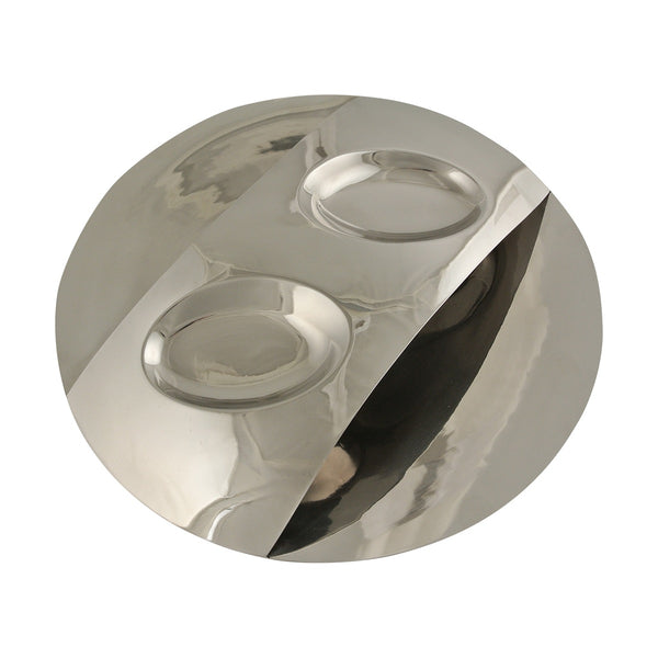 American Metalcraft SSCD12 Stainless Steel Chip & Dip Tray
