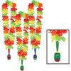 Beistle 50371 Fiesta Lei With Maraca Medallion