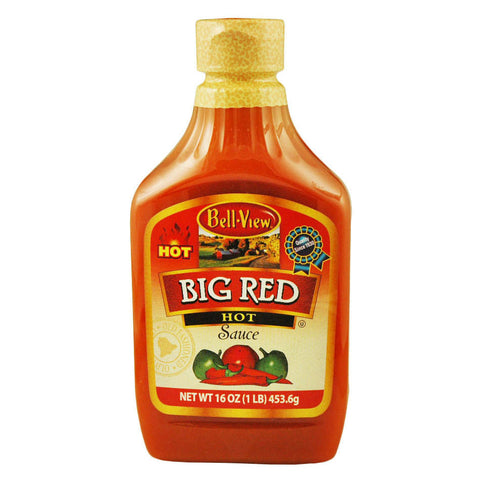 Bell-View 16 Oz Squeezable Big Red Hot Sauce