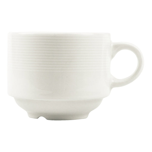 Continental China St. Andrews Stackable White Mug
