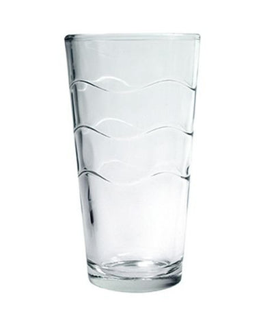 Arc Cardinal C8882 Wave Pattern 10 Oz Mixing Glass