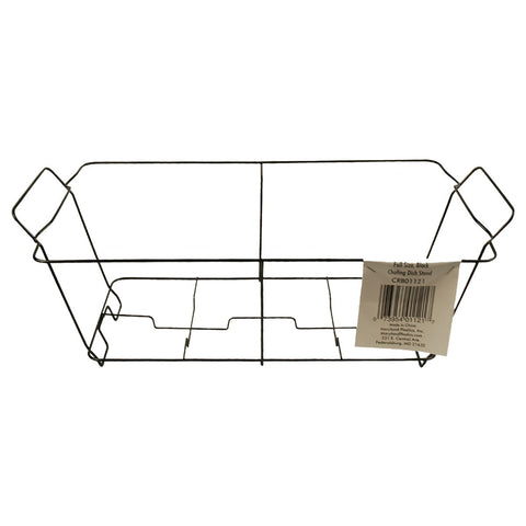 Black Wire Chafing Dish Rack Stand Only