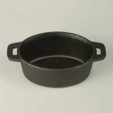 American Metalcraft CIPOV63 Mini Cast Iron Serving Pot - ShopAtDean  - 1