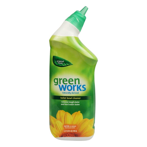 Clorox 31597 Green Works Toilet Bowl Cleaner