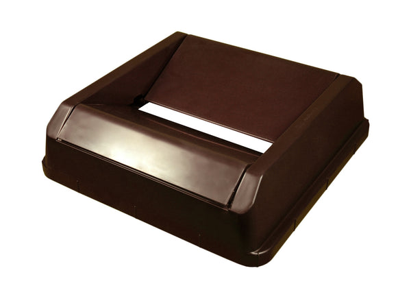 Brown Drop Shot Lid for Swingline Can (1702BN)