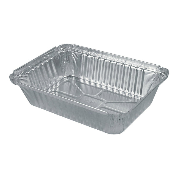 Durable 8-11/16 x 6-1/8 Oblong Foil Container