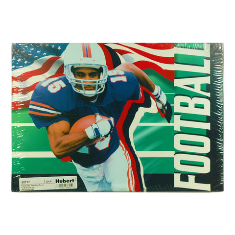 Football 11.75 x 8.5 Placemats 100/Pack