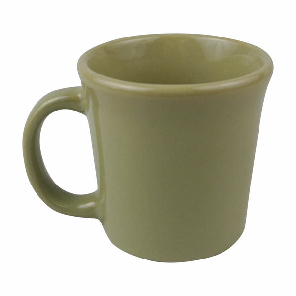 Diversified Ceramics DC103 10 Oz Tucson Mug Apple Green