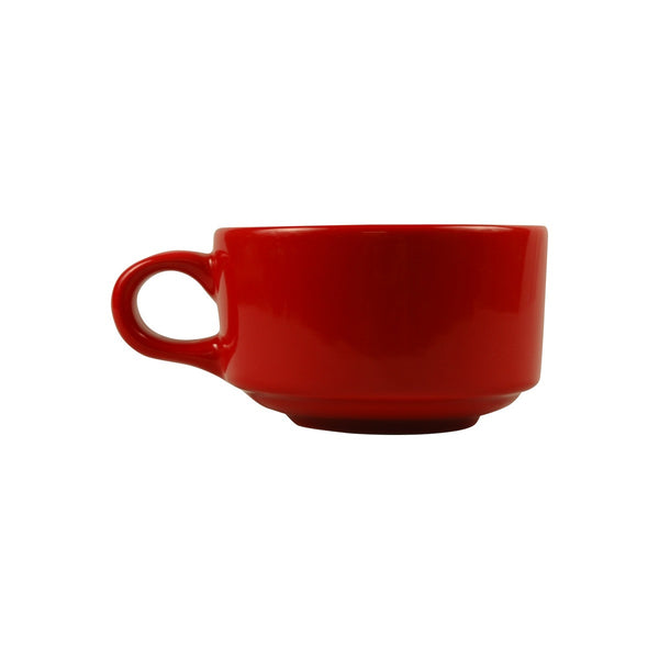 Diversified Ceramics DC144 12 Oz Latte/Soup Cup Red