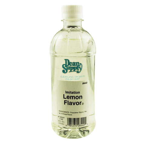 Imitation Lemon Flavoring 16 Oz Bottle