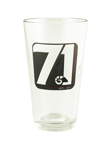 Cardinal H1286 16 Oz Mixing Glass 40th Anniversary