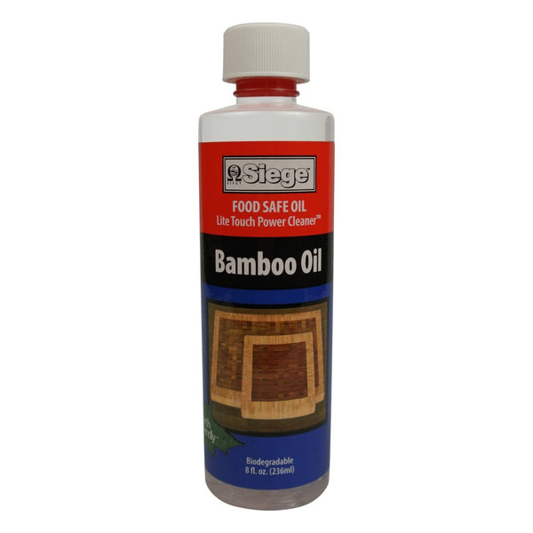 Siege 789 8 Ounce Bamboo Wood Oil