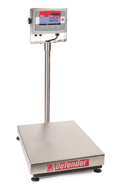 Ohaus 83999820 Defender 3000 Washdown Bench Scales