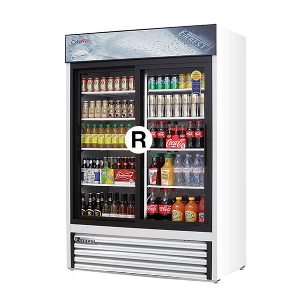 Everest Refrigeration EMGR48 Glass Door Merchandiser