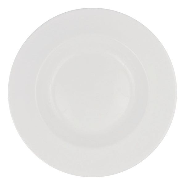 Dudson 3PLW385X 24 Ounce Ceramic Soup Bowl White