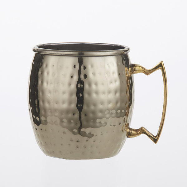 Moscow Mule Mug GM16H 16 Oz Gold Hammered
