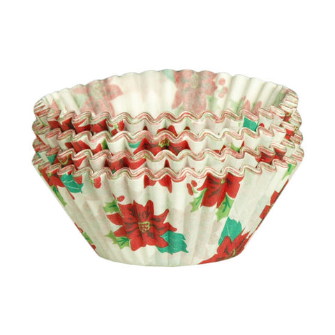 Lapaco 9NO-601-4501 Poinsettia Baking Cups