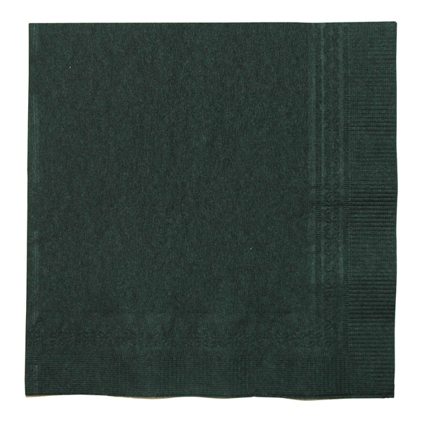 Lapaco 501-116 Black Beverage Napkins