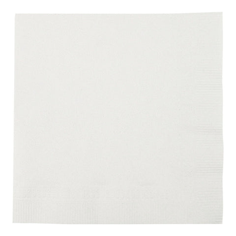 Lapaco 501-100 White Beverage Napkins