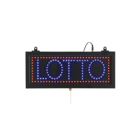 Aarco LOT04S Small Led Sign Lotto
