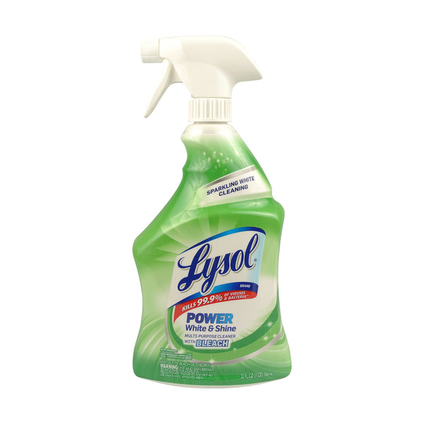 Lysol 94532 Plus Bleach All Purpose Cleaner 32 Oz
