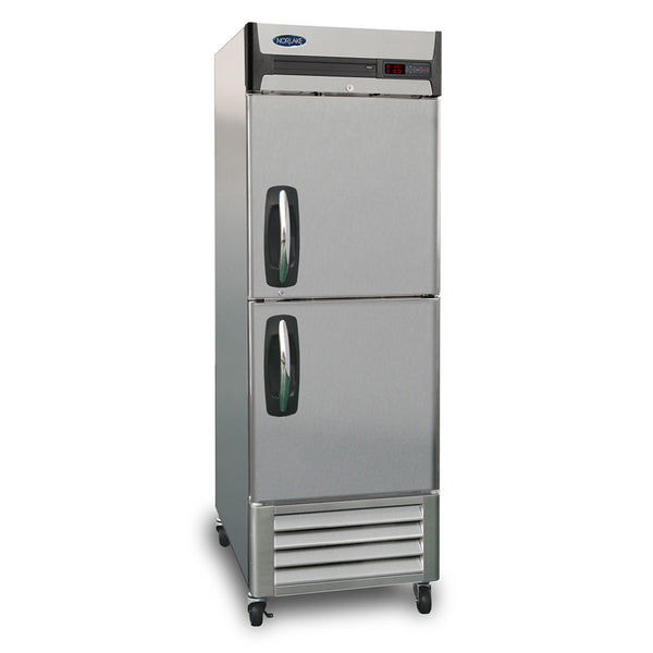 Nor-Lake NLF23-SH 1 Section Reach-in Freezer, Half Solid Doors