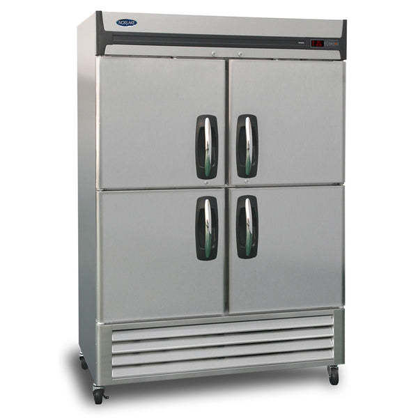 Nor-Lake NLF49-SH 2 Section Reach-in Freezer, Half Solid Doors