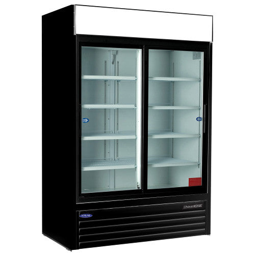 Nor-Lake NLGR48S 2 Glass Door Merchandiser
