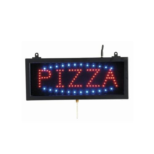 Aarco PIZ01S Small Led Sign Pizza