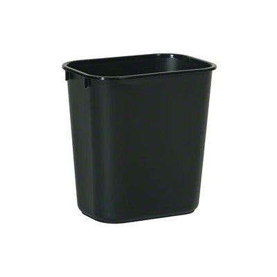 21 Qt Large Open Wastebasket Magnificent Rubbermaid 60BK 60 Qt Waste Basket Black ShopAtDean