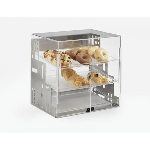 Cal Mil 1623-55 19x16x19 Squared Bakery Display Case with 3 Trays