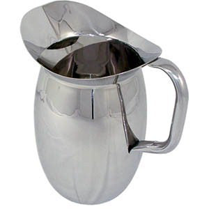 2 Quart SS Bell Pitcher With Ice Guard (BP-2G)