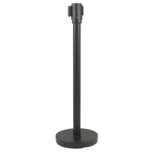 Update RS-36BK Black Stanchion with Pole and Base