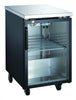 Adcraft USBB-2428G U-Star Glass Door Back Bar Cooler - 1 Door