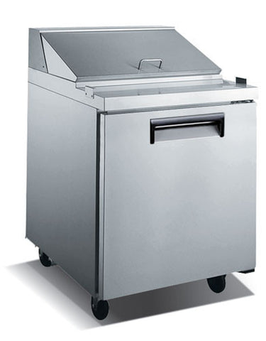 Adcraft USSL-1D U-Star 1 Door Salad/Sandwich Prep Table