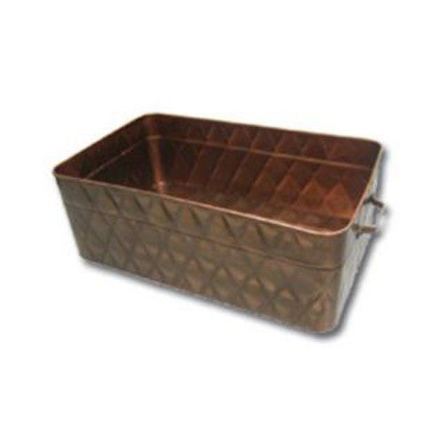Winco WST-22 Wine Copper Display Tub