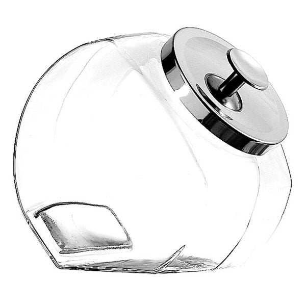 Anchor Hocking 69590 Penny Jar With Chrome Cover