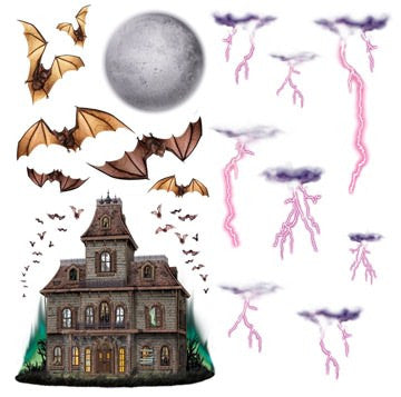 Haunted House & Night Props 16/Pack