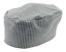 Bvt-Chef Revival H009 Houndstooth Pill Box Hat