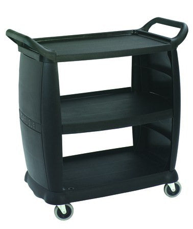 Large Busing Transport Cart, Black 2243-03