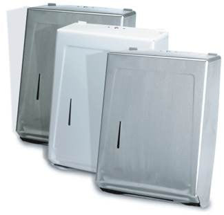 White Multi and C-Fold Towel Dispenser (990W)