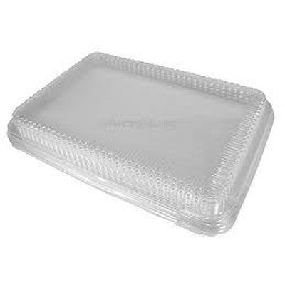 Durable P1200-100 Low Dome For 1/4 Sheet Cake