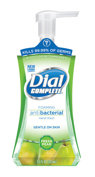 Dial 02934 7.5 Oz Pear Foaming Hand Soap