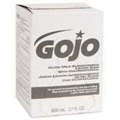 GOJO 9212-12 Ultra Mild 800 mL Antimicrobial Lotion Soap
