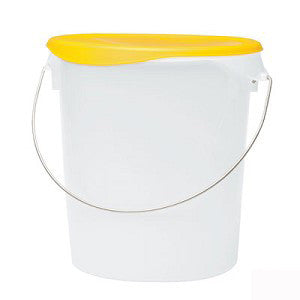 22 Quart Clear Round Storage with Bail (5729-24)