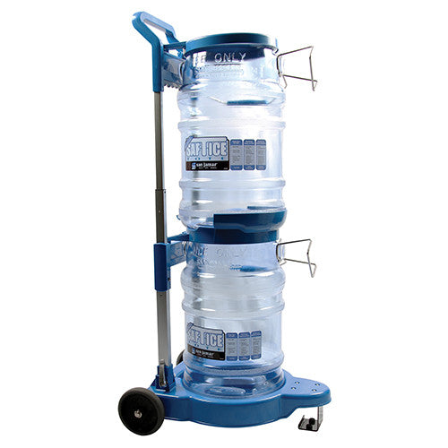 San Jamar SICART60 Saf-T-Ice Cart For (2) SI6000